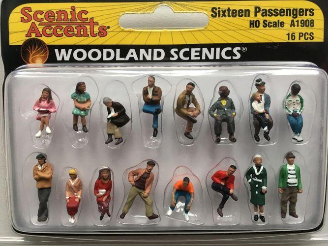 Figuren Miniaturwelten H0 Woodland Scenics A1960 Straßengegenstände 1:87
