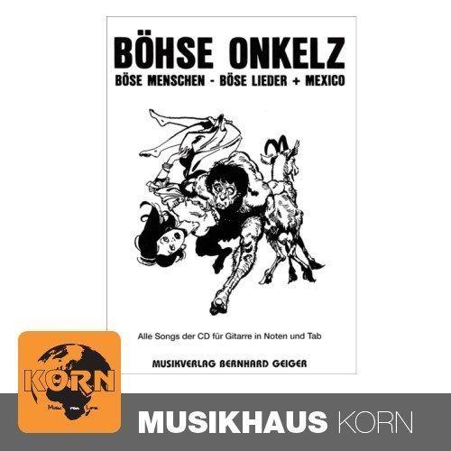Music Service Geiger - Böhse Onkelz - Böse Menschen böse