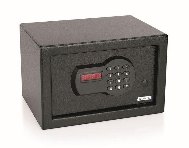 Zimmersafe Mini-USB-Anschluss Digitaldisplay Möbeltresor aus 6 mm Stahl