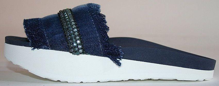 Beautystep Damen Aktiv Fitness Sandale Gr 38 Schuhe Pantolette Slipper Pantoffe