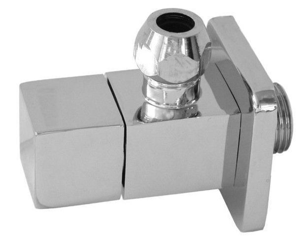 Design Siphon Sifon 2 Eckventil 1 Ablaufventil PushUp Q mit Universalüberlauf