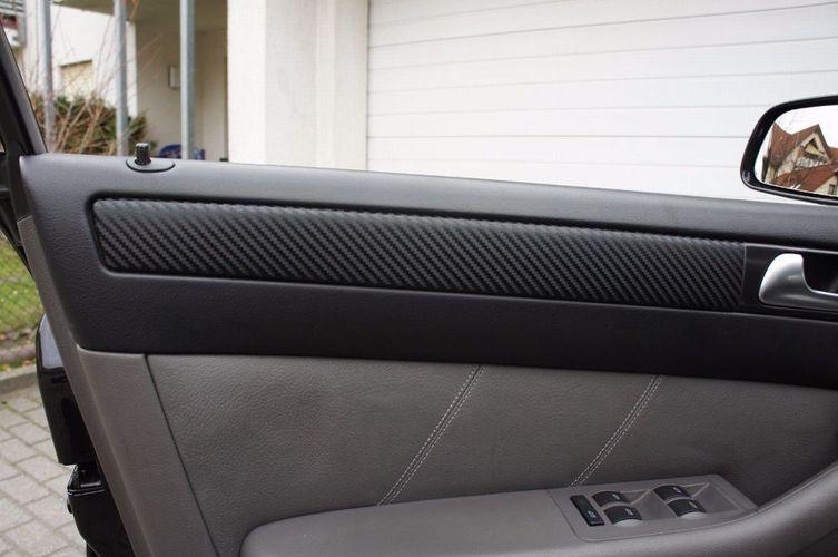 Mercedes Benz E-Klasse W124 3D CARBON SCHWARZ ZIERLEISTEN FOLIEN SET
