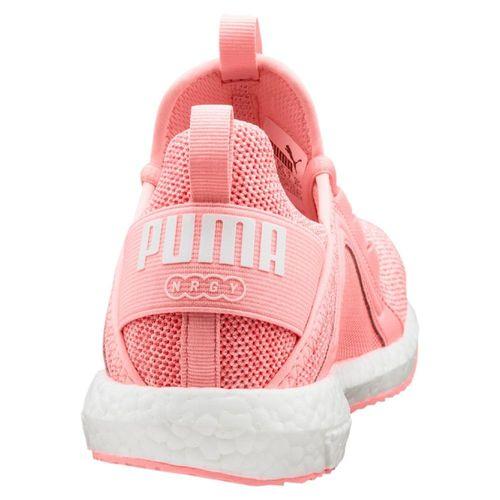 Puma Mega NRGY Knit Laufschuhe Vintage Fitnessschuhe Sneaker 190373 Damen Peach