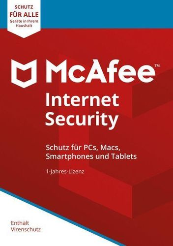 McAfee Internet Security 2020 1 PC 3 Jahre Mac Android kaufen bei Hood.de