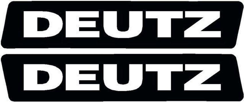 Deutz Aufkleber Kotflügel oder Kabine für D4506 ab Bj1974 33x5cm Sticker Label
