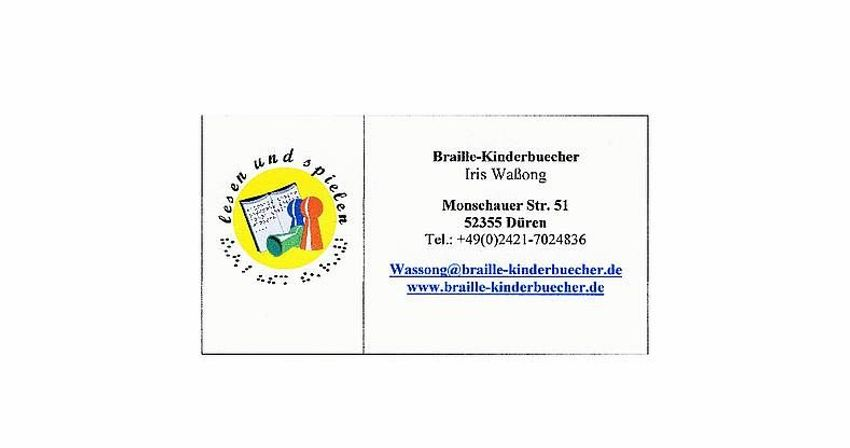 Braille-Kinderbuecher