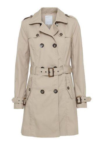 Soyaconcept Damen Mantel Trenchcoat in beige oder blau