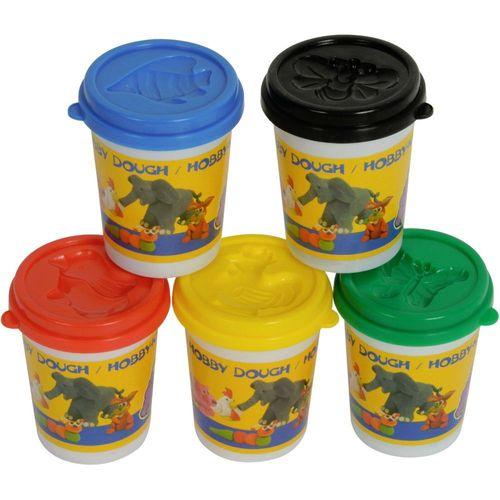 Play Toys Knetset Knetmasse Softknete Modellierknete 5 Farben 500g 1,78€//100g