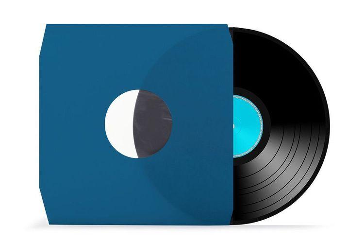 LP Vinyl xi-media /® 80 gr.//qm schwarz 12 gef/üttert Innenh/üllen 10 St/ück Schallplatten antistatisch mit Eckschnitt