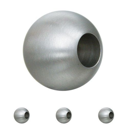 Edelstahlkugel massiv ø 30mm mit 12,2mm Durchgangsbohrung
