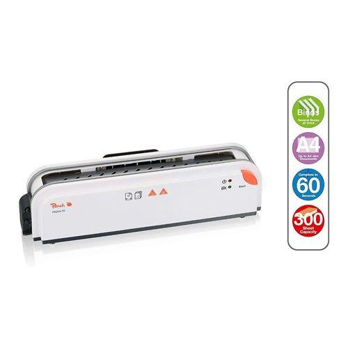 Peach PB200-70 Thermobindegerät DIN-A4 Testsieger schnell startklar nur 1min