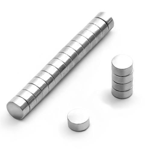 Mini Powermagneten 6mm x 3mm Scheibenmagnet Zylindermagnet Minimagnet Magnet