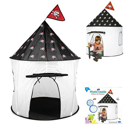 Spielzelt Piratenzelt Kinder Spielhaus Burg Kinderzimmer Outdoor Ø105  Playhouse