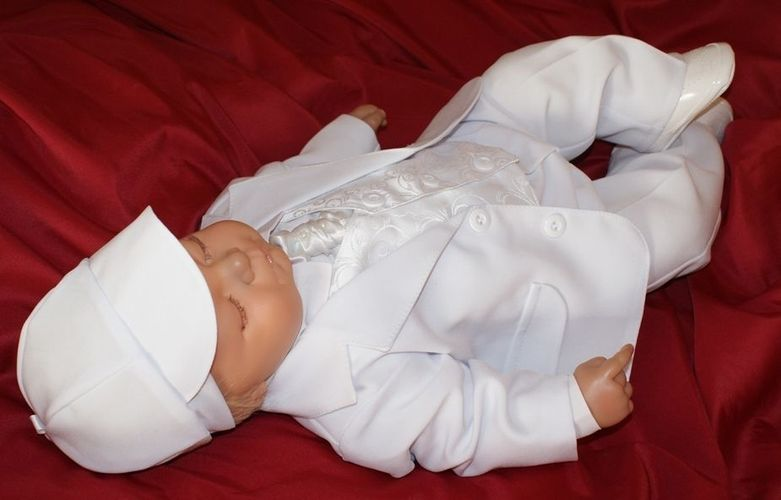 Kinderanzug Taufanzug Festanzug Babyanzug Anzug Taufgewand Neu Nr.02-A