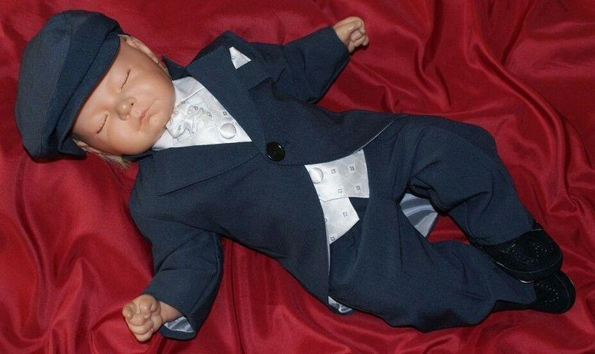 Nr.016D  Babyanzug Anzug Taufanzug Kinderanzug Taufgewad Festanzug Taufe