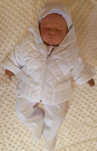 Nr.015wi Winteranzug Babyanzug Taufanzug Festanzug Taufgewand Taufe   Neu