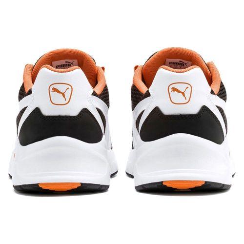 Puma Nucleus Unisex Fitnessschuhe Sneaker Turnschuhe 369777 Black Jaffa Orange