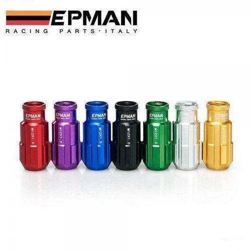 Epman Alu Lug Nuts Radmutter Honda,Nissan,Toyota,Subaru,Mazda,M12x1.5,M12x1.25