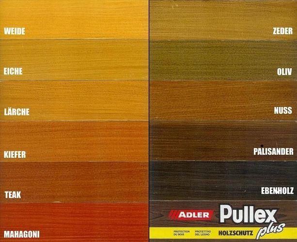 17 90 l adler pullex plus lasur 2 5 liter holzschutz standard farben neu alt kaufen bei. Black Bedroom Furniture Sets. Home Design Ideas