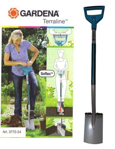 Gardena Terraline Damen-Spaten mit D-Griff 3772-24