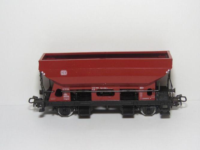 Märklin HO 4631 Drehschieber-Seitenentladewagen der DB ohne OVP