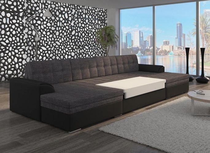 Xxl Wohnlandschaft Ecksofa Mit Schlaffunktion Vega Couch