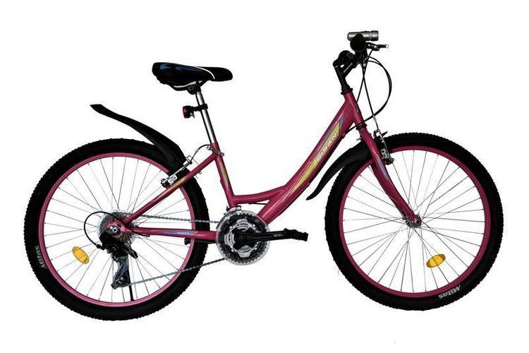 24 Zoll Kinder Mädchen Jungen  MTB Kinderfahrrad Mountainbike Fahrrad Rad Bike
