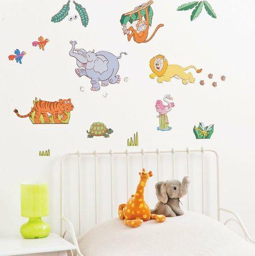 Kindermobel Wohnen Funtosee Wandsticker Wandtattoo Dschungel Safari Babyzimmer Kinderzimmer Mobel Wohnen Blog Vr Com Br