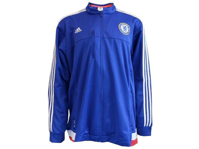 adidas Chelsea London Anthem Jacket blau CFC Fan Jacke Premier League XL 3XL