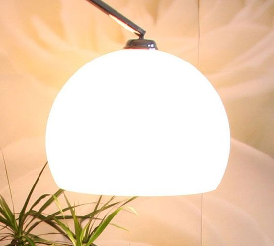 Bogenlampenschirm orange Kunststoff Ø 40cm