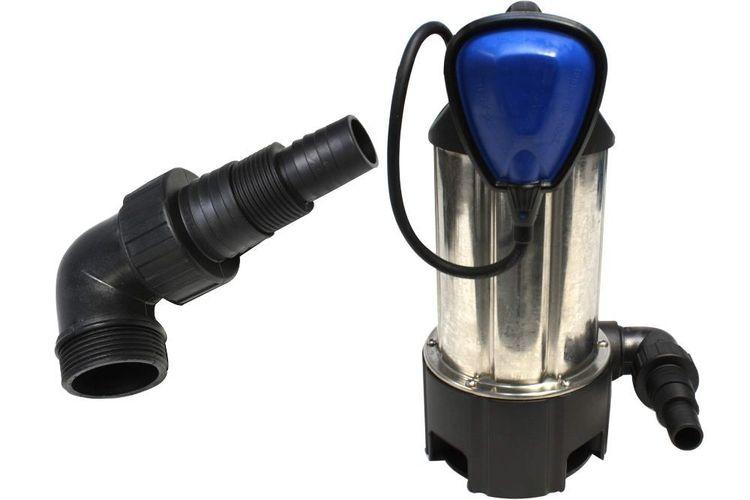 KYNAST Schmutzwasserpumpe Tauchpumpe 750 W Edelstahl