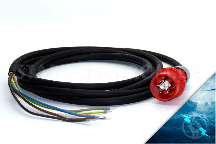 CEE 10m Verlängerungskabel Starkstromkabel 16A 5x1,5mm² Phasenwender