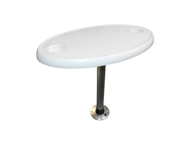 Bootstisch mit Fußsystem zum abnehmen unterschiedliche Größen Tisch NEU Caravan