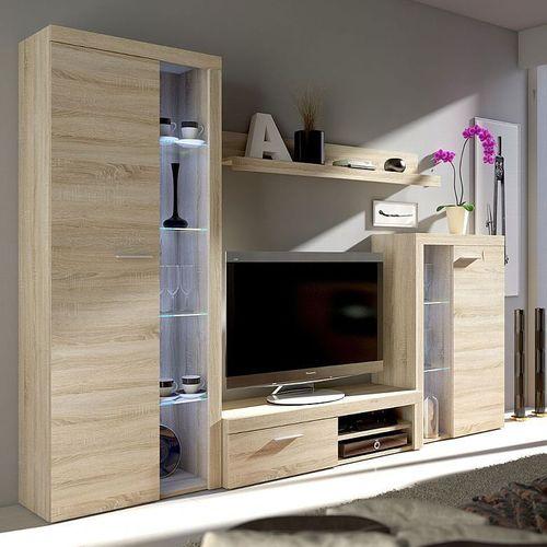 Wohnwand Roomba Wohnzimmer-Set Schrankwand Anbauwand Modern Wohnmöbel  Kollektion