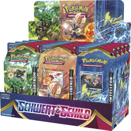 pokemon schwert & schild booster/ display/ themendecks de
