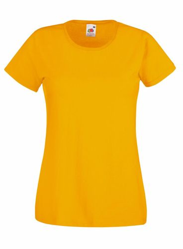 T 61-372-0 NEW Fit Valueweight in 17 Farben Fruit of the Loom: Damen T-Shirt