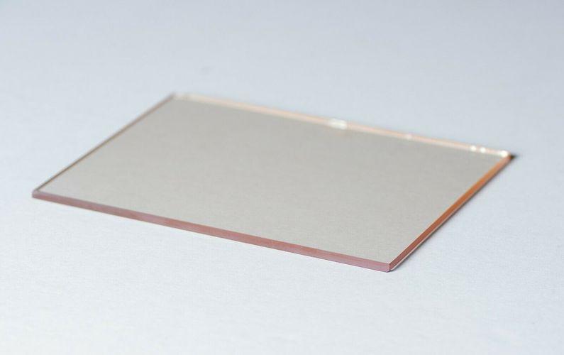 Hitzeschutzglas Kamin Feuerfestes Glas Kaminglas auf Ma/ß 800/°C Hitzebest/ändige Glaskeramik Kaminscheibe Ofenglas 31 x 25cm