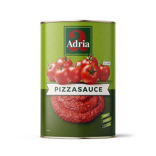 Pizza Sauce Mit Salz Adria Tomatenmasse Mit Kleinen Anteilen 4200g Kaufen Bei Hood De