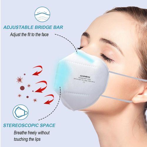 ANNEW FFP2-Schutzmaske Mundmaske Maske Unisex ...