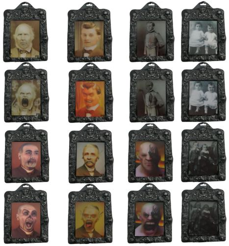 8 Stuck 3d Hologramm Bilder Herren Kinder Im Rahmen Halloween Dekoration Kaufen Bei Hood De