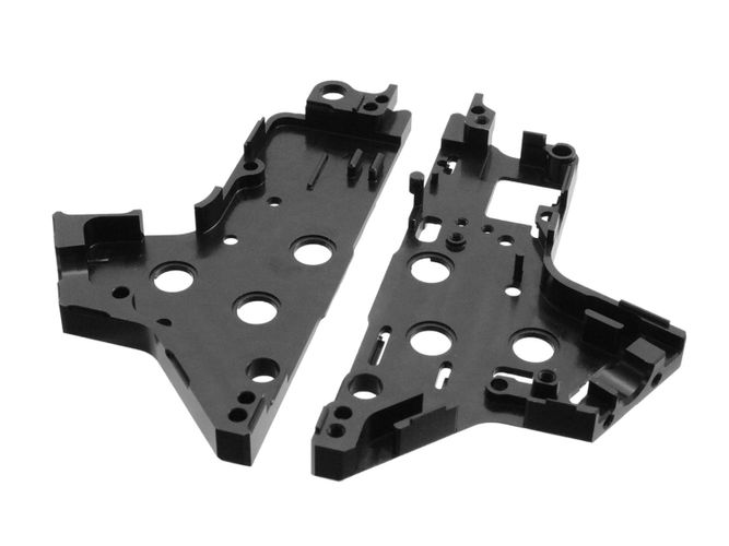 Retro Arms V2 8mm CNC Airsoft Softair Tuning Split Gearbox Set mit HopUp Unit