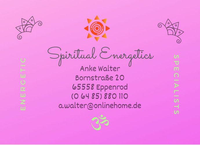 Zum Shop: Spiritual Energetics