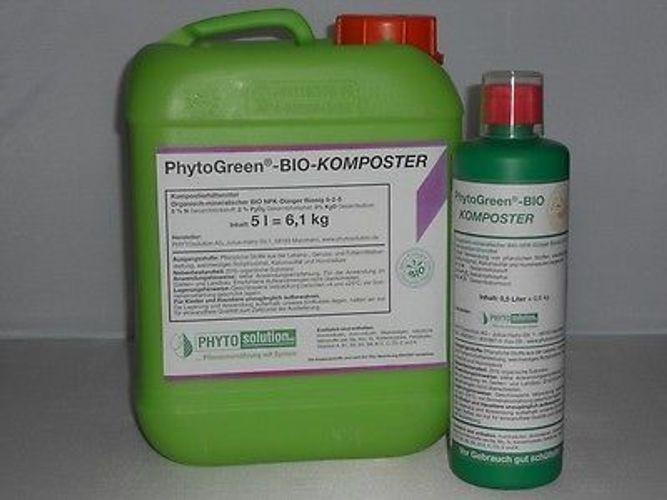 BIO KOMPOSTER Kompostierungsbeschleuniger PHYTOGreen 5 l Kanister