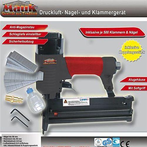 Mauk 282  Druckluft Nagel und Klammerger/ät Tacker
