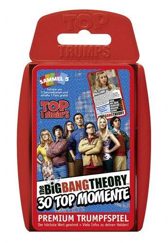 Kartenspiel Top Trumps Quartett The Big Bang Theory