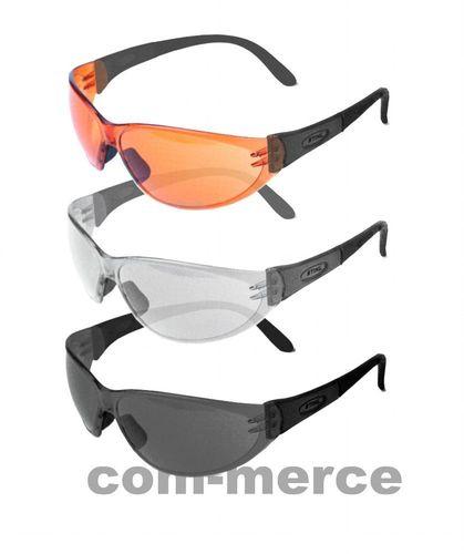 Stihl Schutzbrille Light  Brille Arbeitsschutzbrille klar getönt orange
