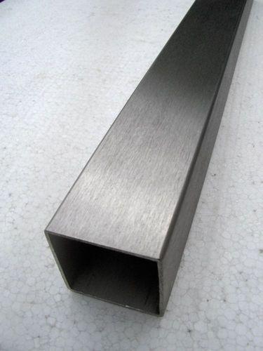 Quadratrohr Vierkantrohr Stahl Länge 180 mm/_