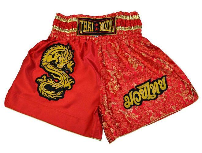 Gr/ö/ße: XXL Muay Thai Boxing Shorts Farbe: Schwarz-Gold XXXL