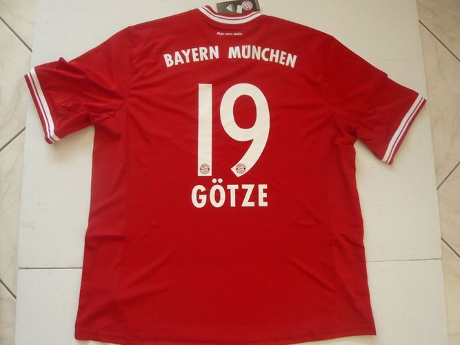 Adidas FC Bayern München Trikot 19 Mario Götze 201314 Heim