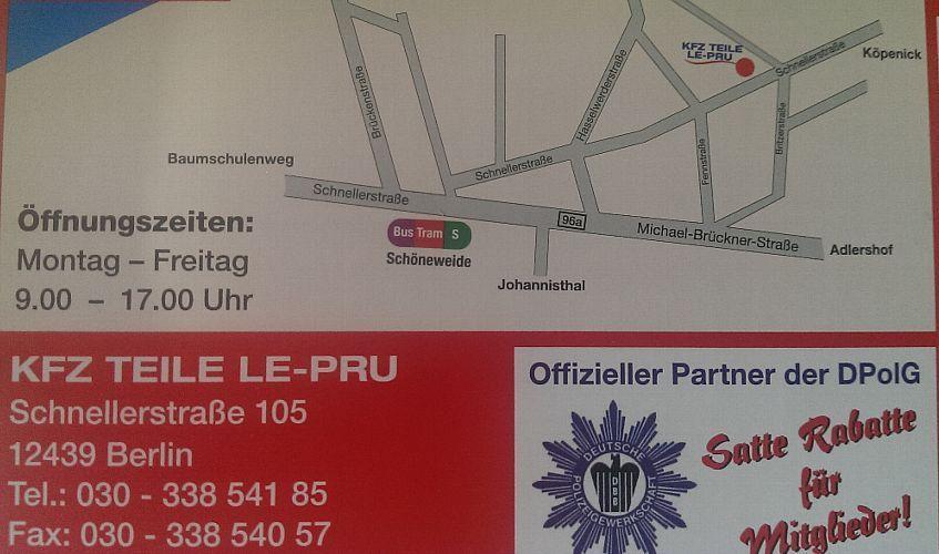 Kfzteile Le-Pru